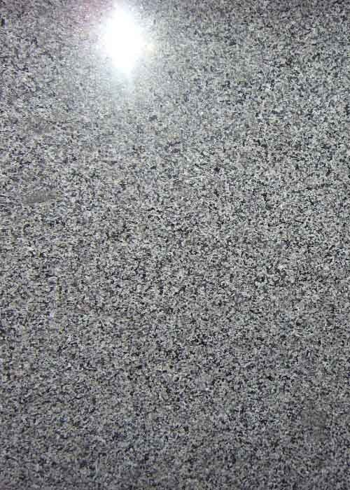 Polished / Honed Granite Countertop Slabs , Dark Grey Granite Stone Flooring